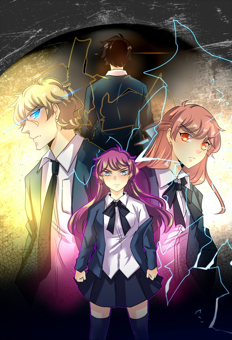 Four main characters in the unOrdinary webtoon