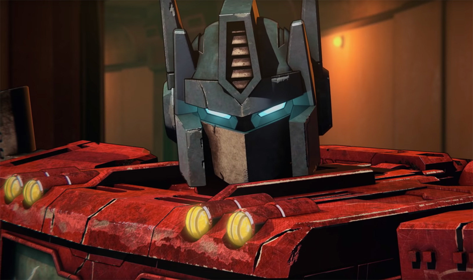 Optimus Prime from the Netflix series War For Cybertron