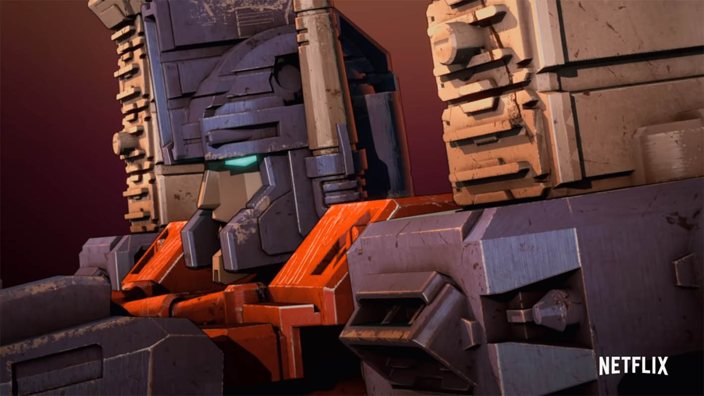 Profile of Ultra Magnus from The Transformers: War For Cybertron.