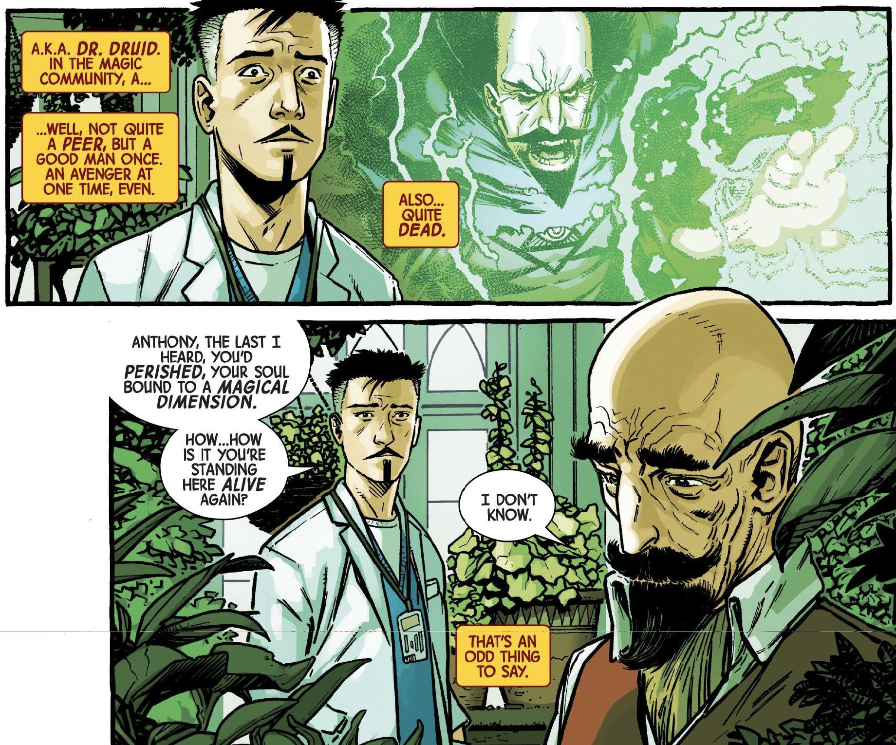 Page 9 of Dr. Strange: Surgeon Supreme #2