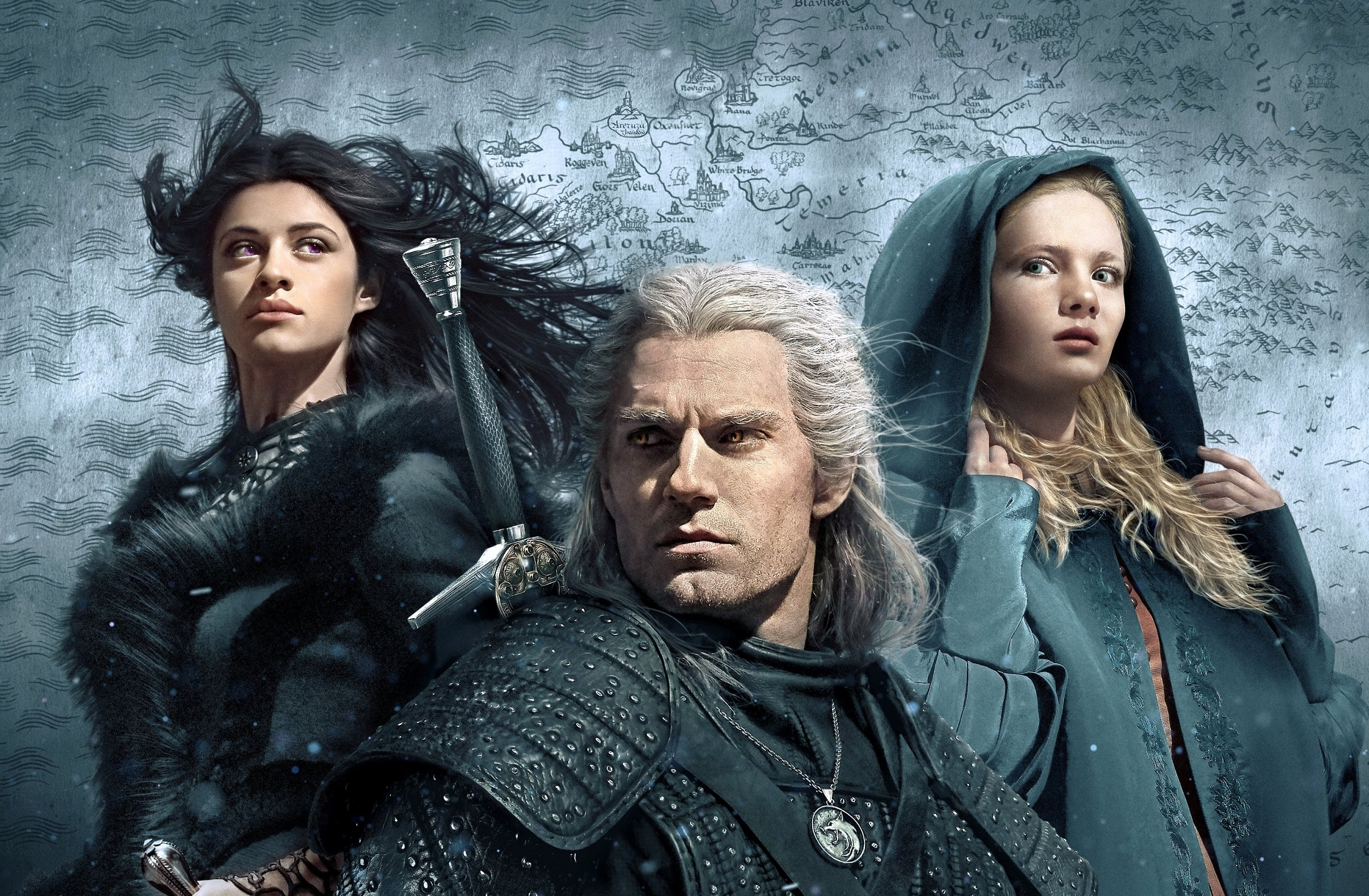 Poster for Netflix's The Witcher