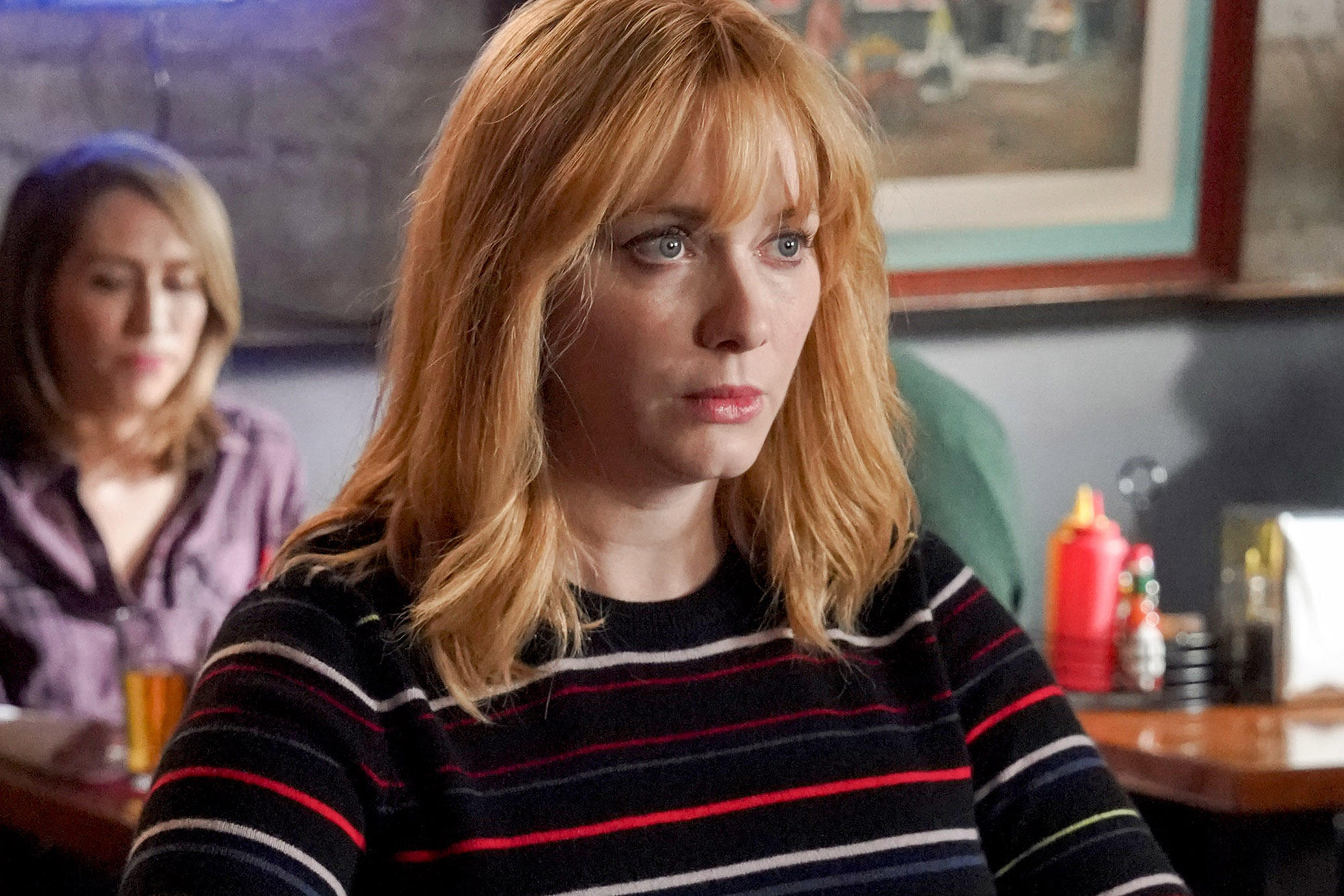 Christina Hendricks, Beth Boland, in season 2.