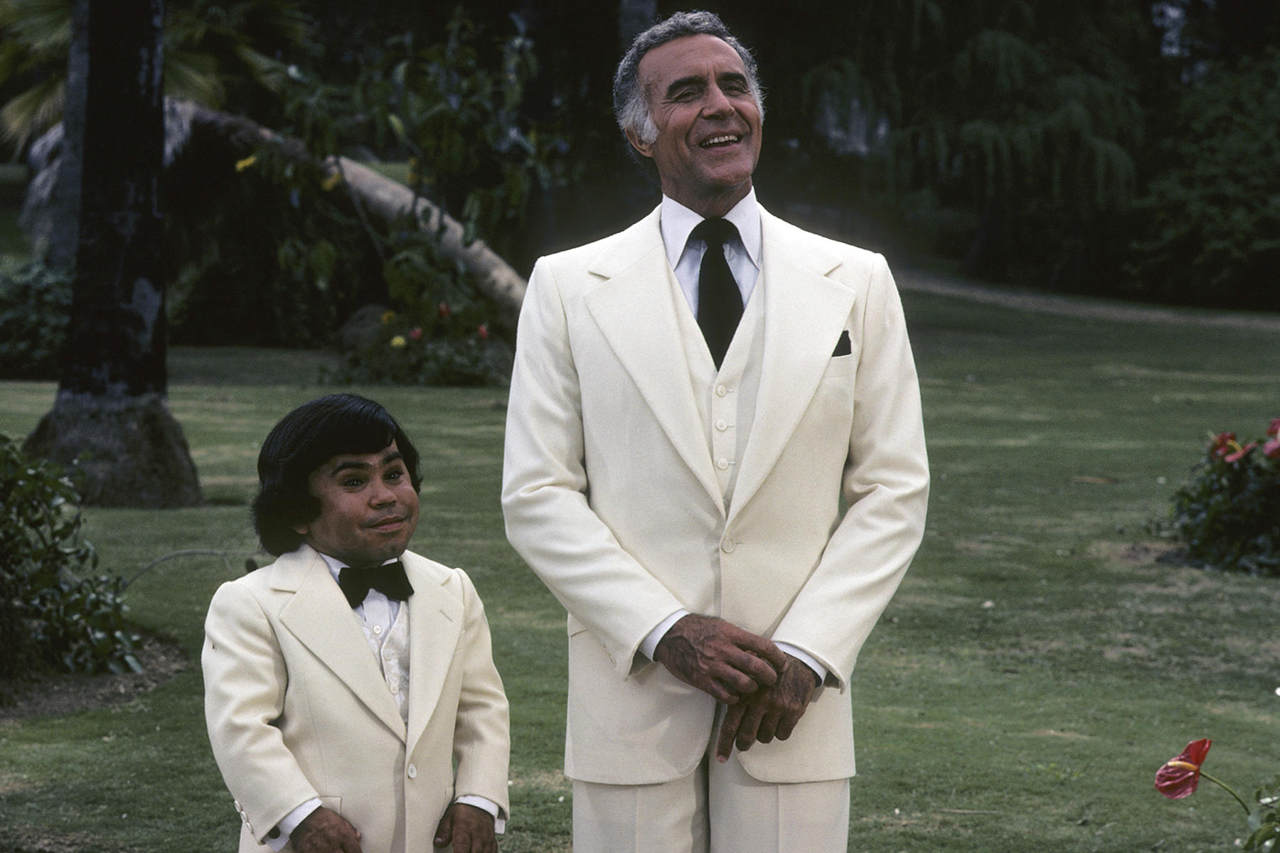 Ricardo Montalban and Hervé Villechaize in the original Fantasy Island