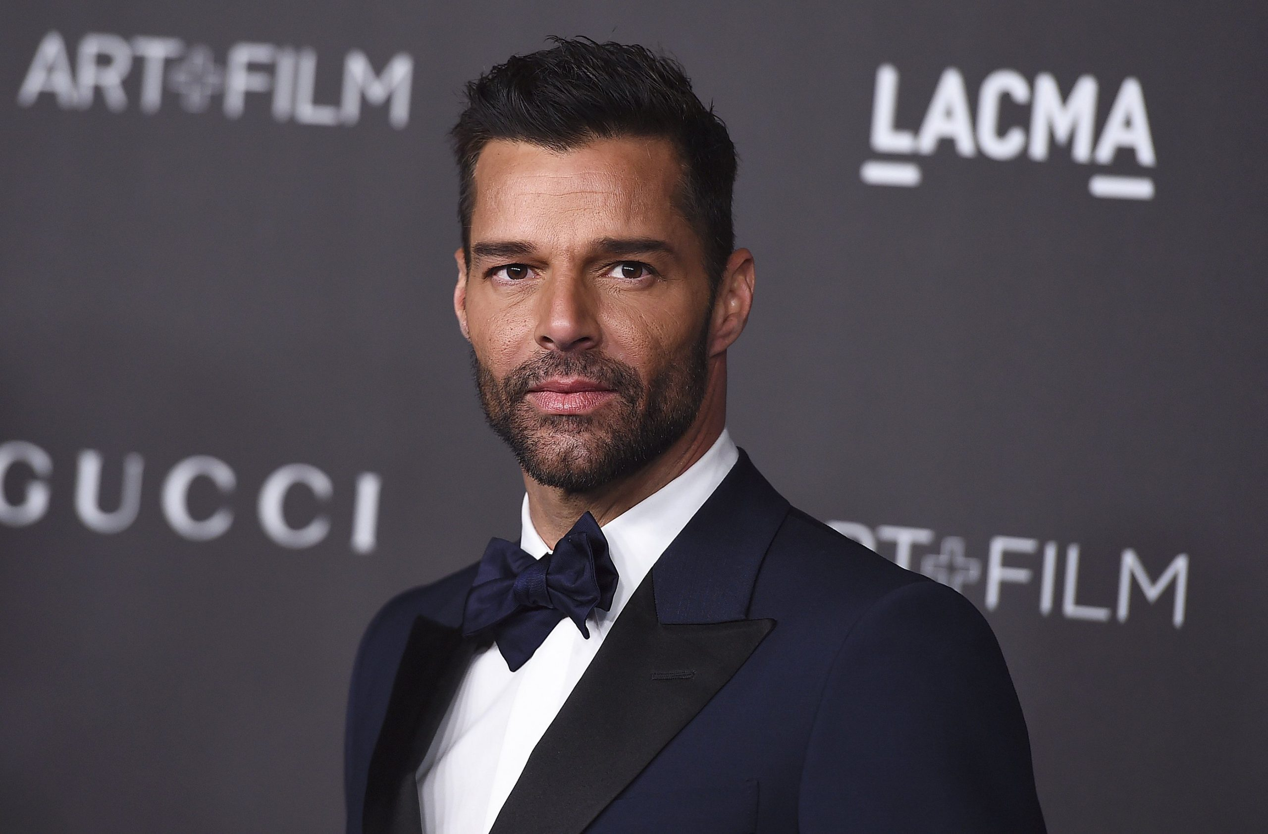 Foreign Love Songs: Ricky Martin on the red carpet.