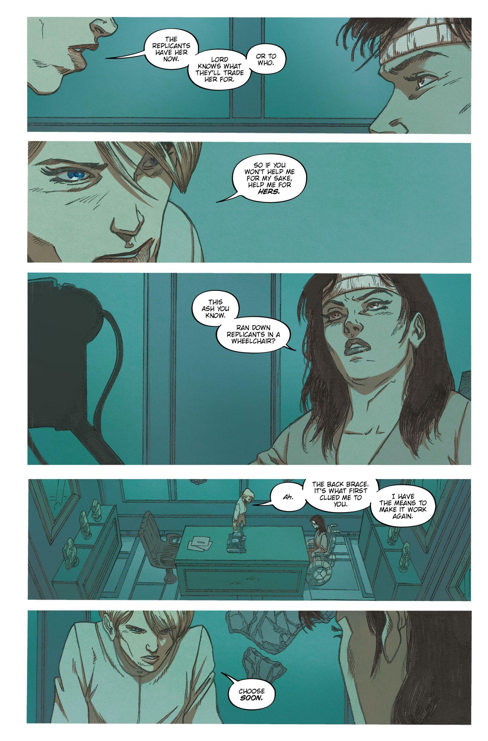 Hythe interrogates Ash