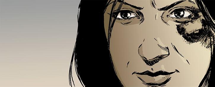 Strong Female Character Dexedrine Callisto of Stumptown