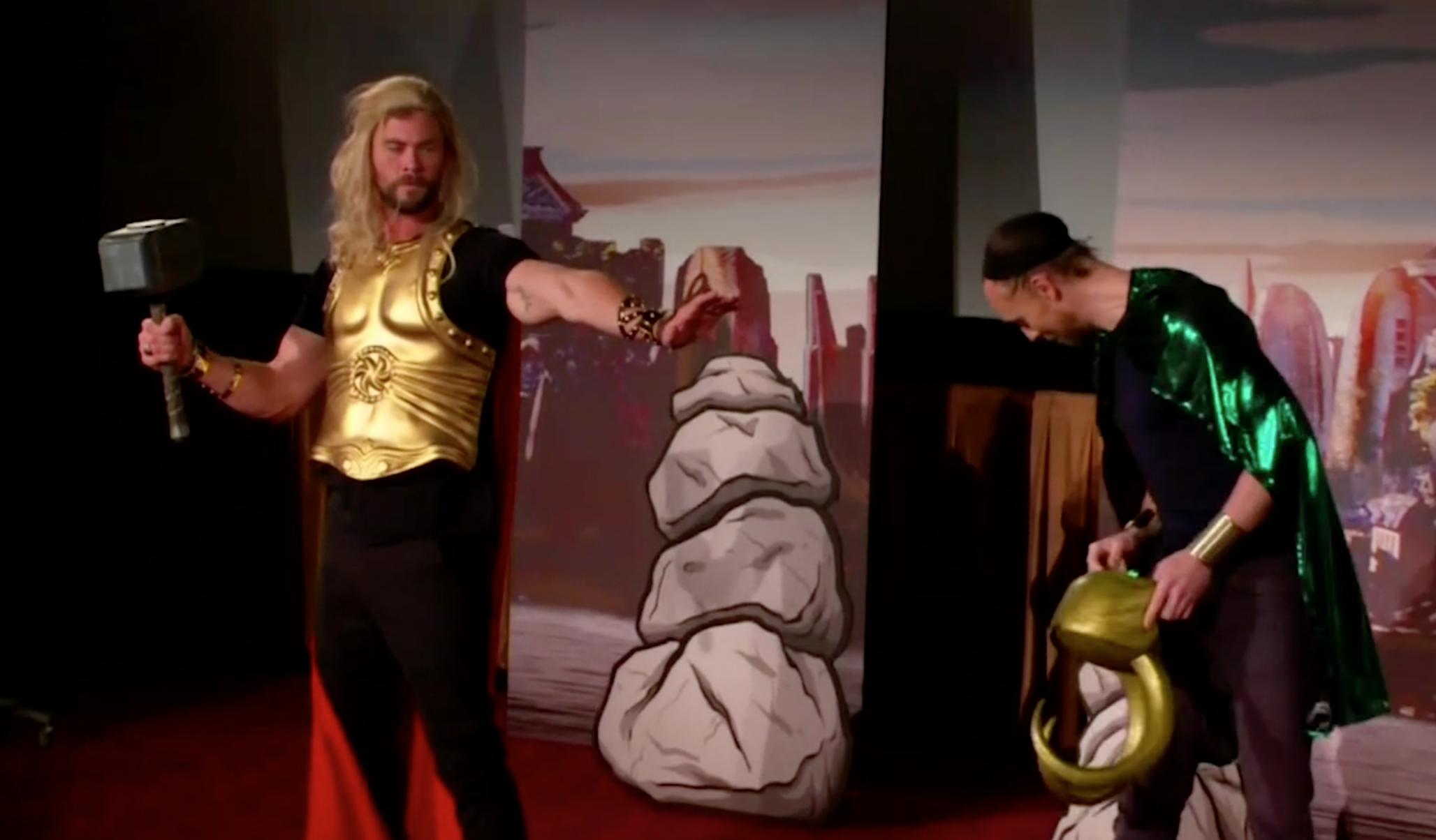 Valentines Day: Chris Hemsworth and Tom Hiddleston parody Thor: Ragnarok.