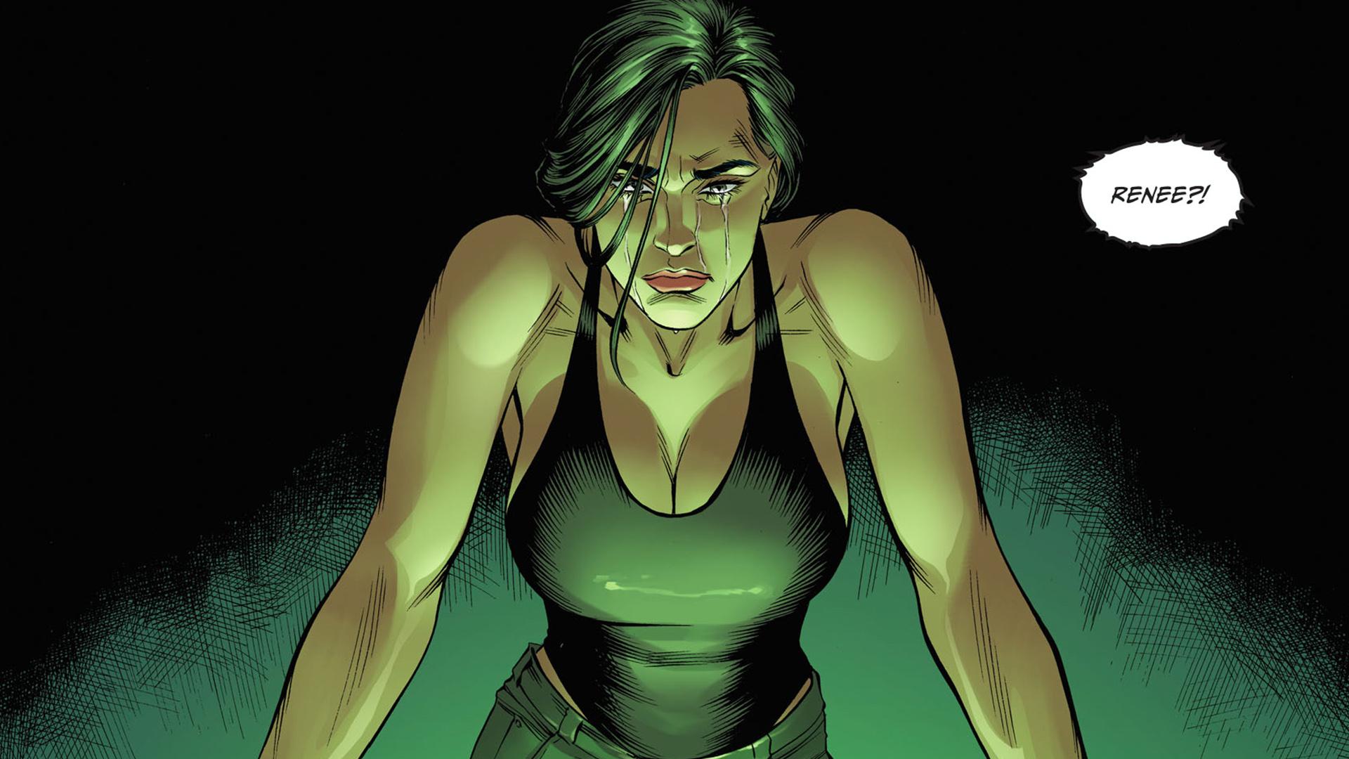 Renee Montoya of DC Comics and Birds of Prey