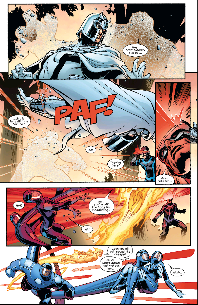 X-Men/Fantastic Four #2 // Marvel Comics (2020)