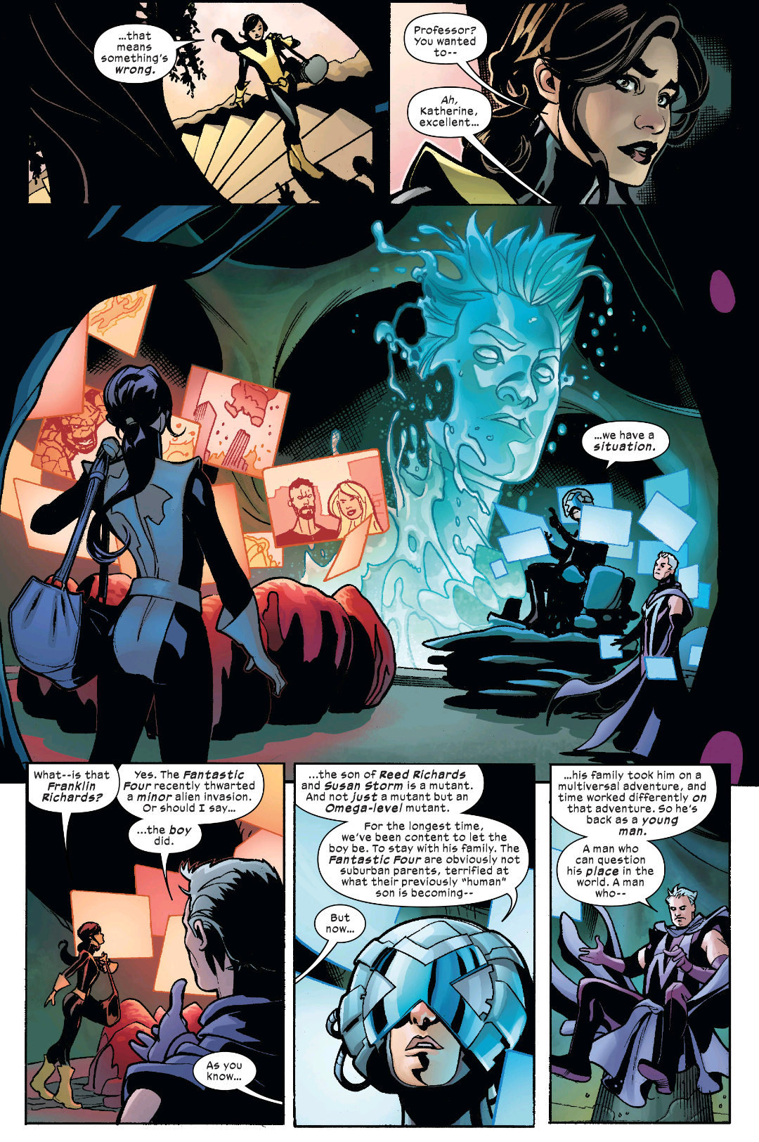 X-Men/Fantastic Four #1-Marvel 2020