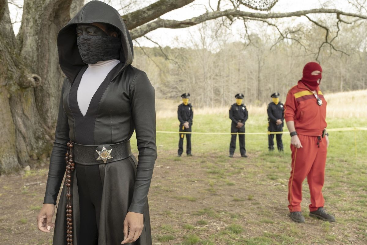 Regina King leads a strong cast in Watchmen