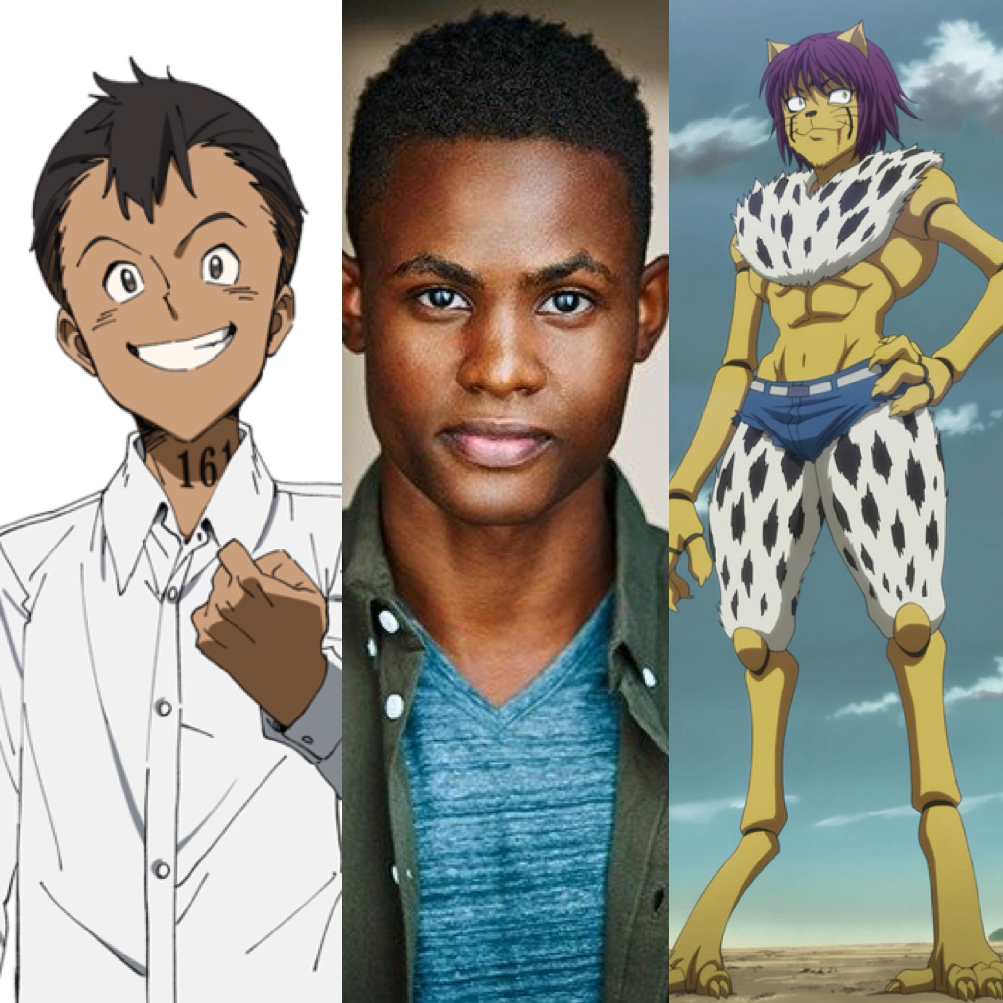 Cedric Williams Voice actor of color for Cheetu and Don