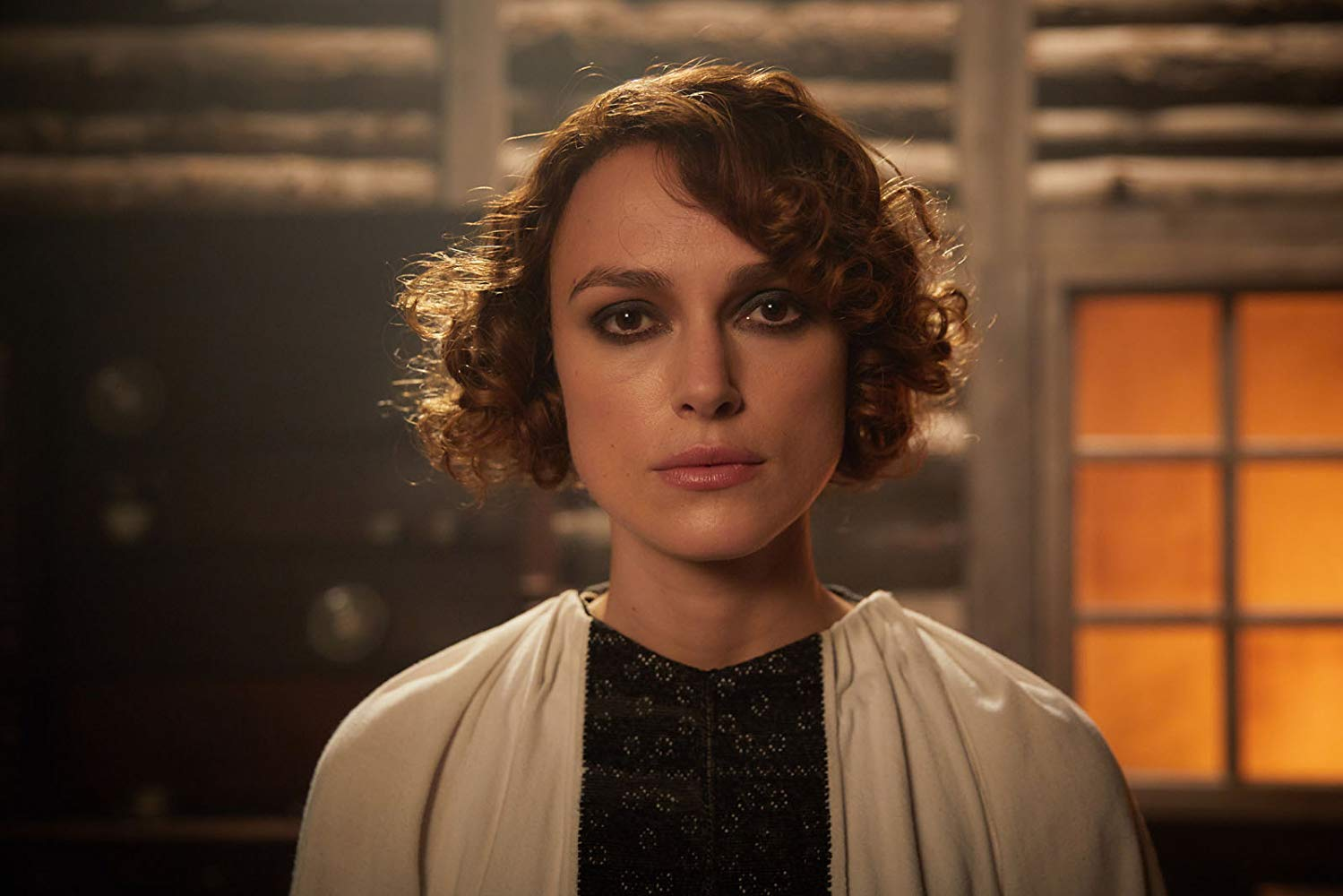 Keira Knightley as Sidonie-Gabrielle Colette in the biographical drama film Colette.
