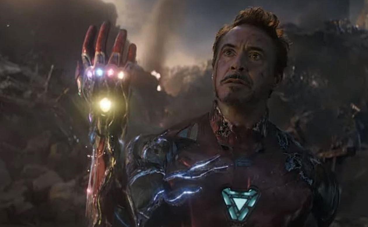 Robert Downey, Jr. as Tony Stark in Avengers: Endgame