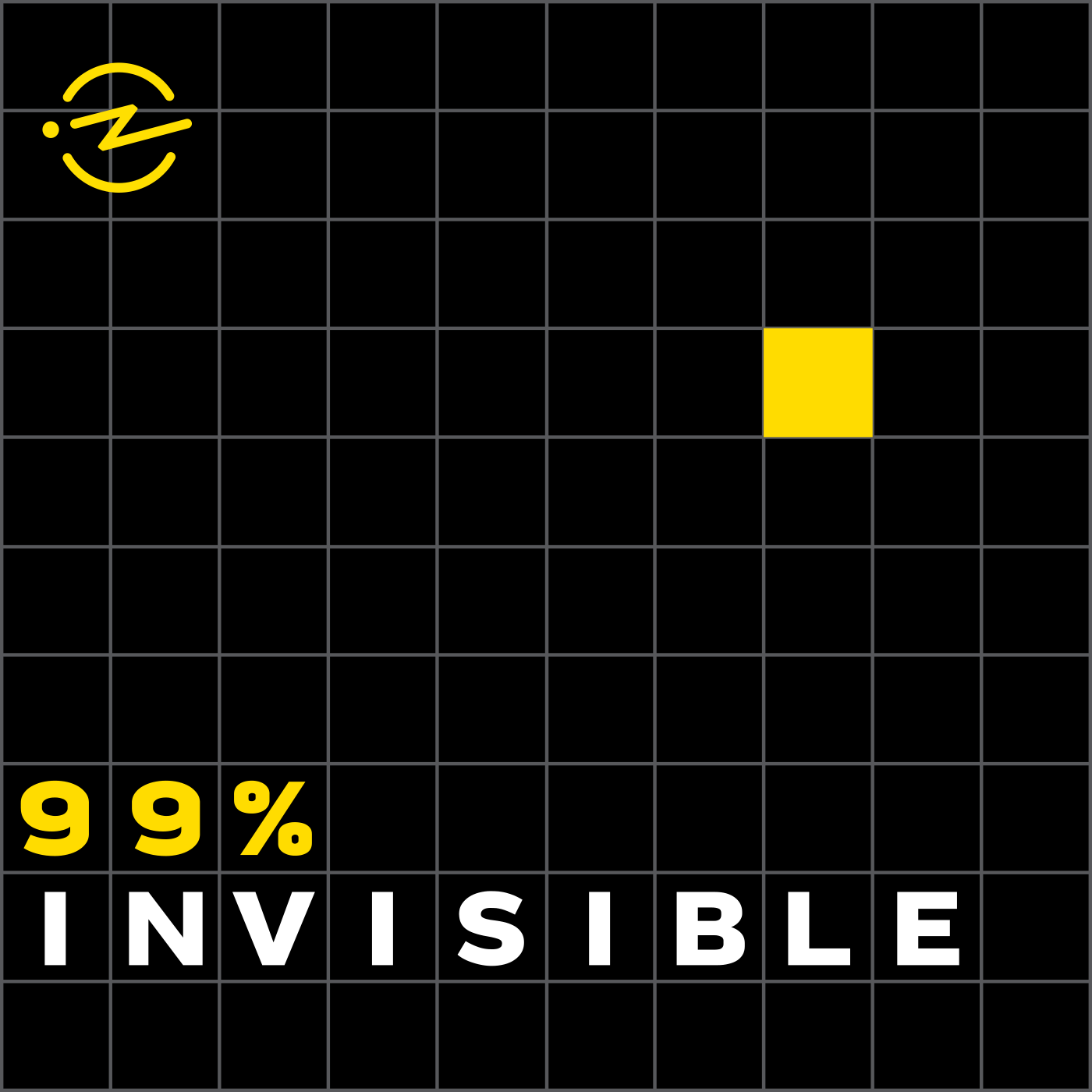 """The """"99% Invisible"""" podcast explores the unseen details of life."""