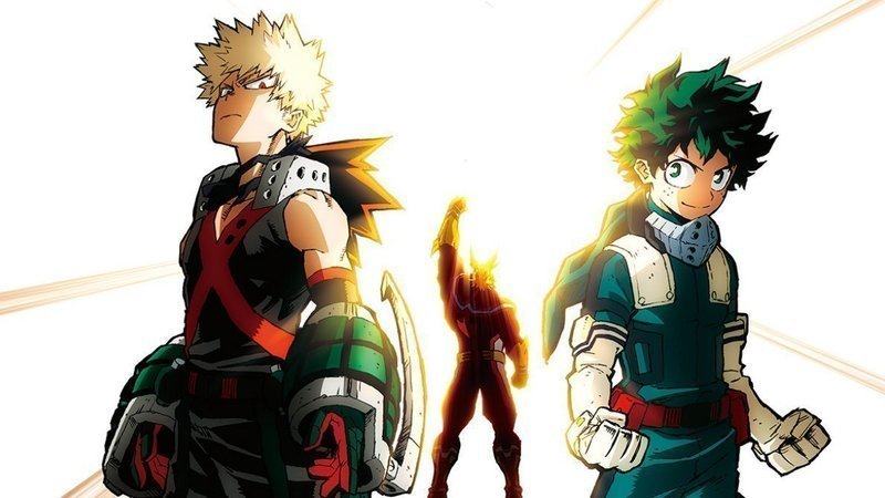 Edit of one of the My Hero Academia Heroes Rising poster to showcase the main focus of the film.