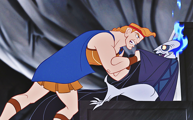 Hades again in the Disney movie Hercules.