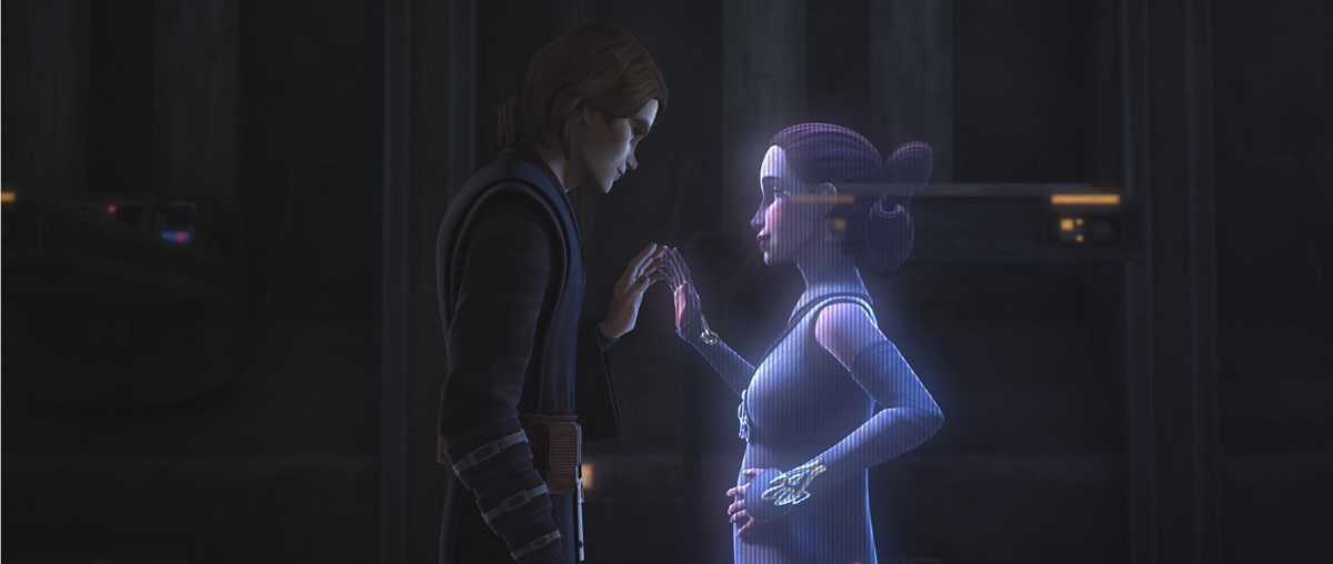 Anidala moment from The Clone Wars season 7 trailer