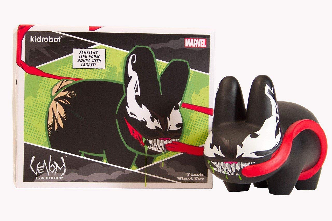 Art figure of Venom as a Labbit, a rabbit-like creature
