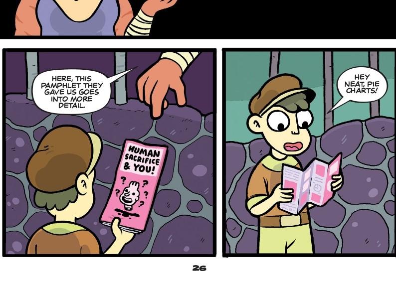 The blood cult's handy dandy sacrificial pamphlet