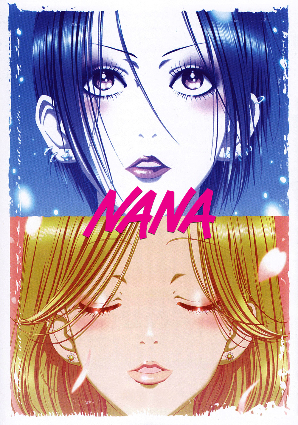 The anime nana's poster featuring both leading women. Nana empowers women through the bond these two leads share.