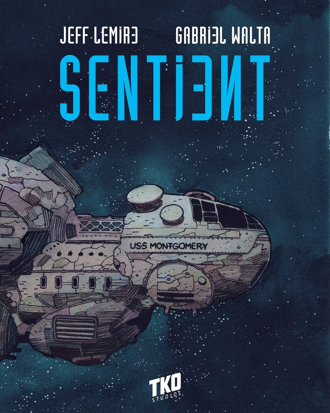 TKO Studios (2019-2020) cover of Jeff Lemire's Sentient.