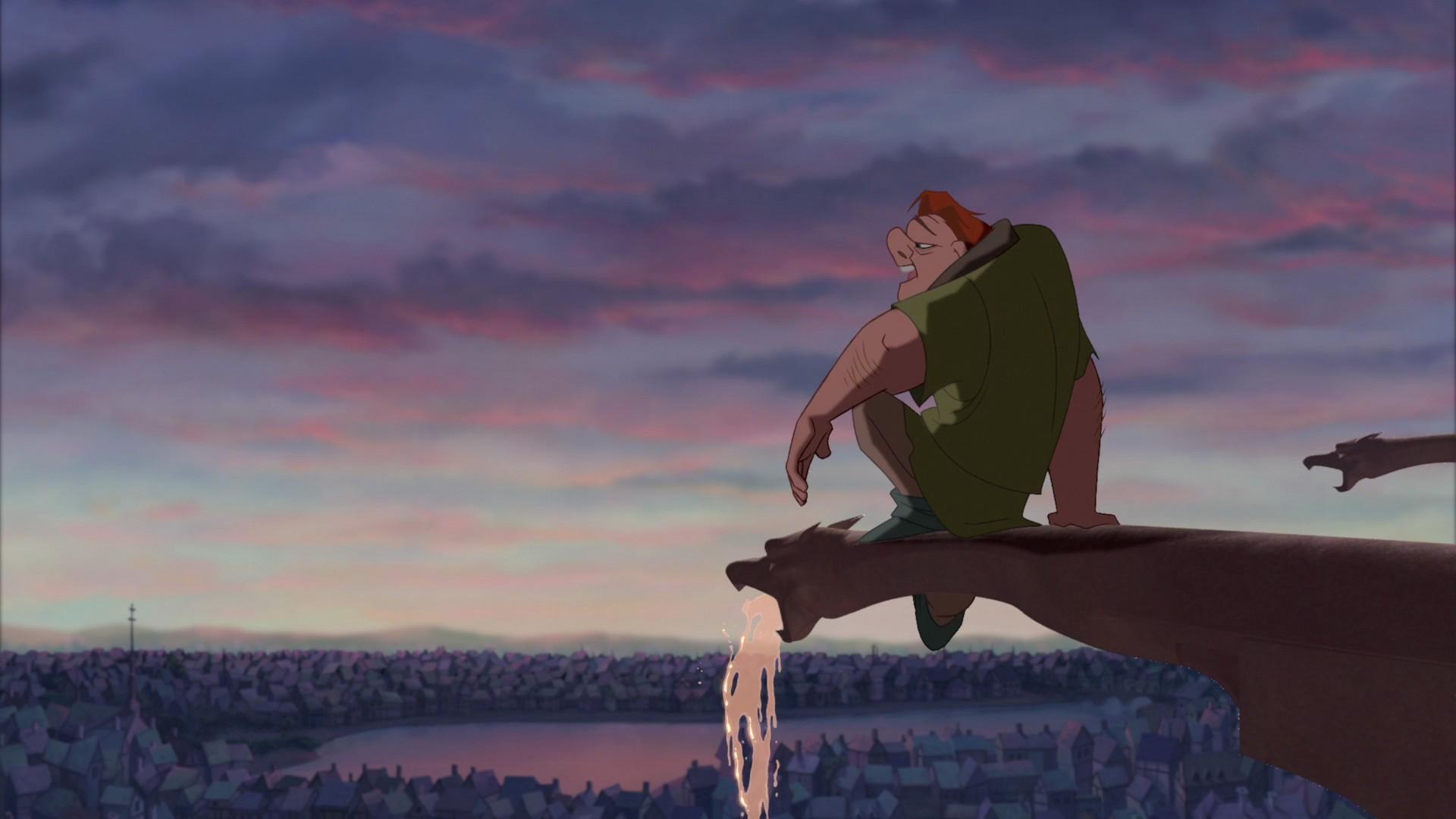 Quasimodo, perhaps the originator of social distancing, dreams of life outside the Bell Tower.