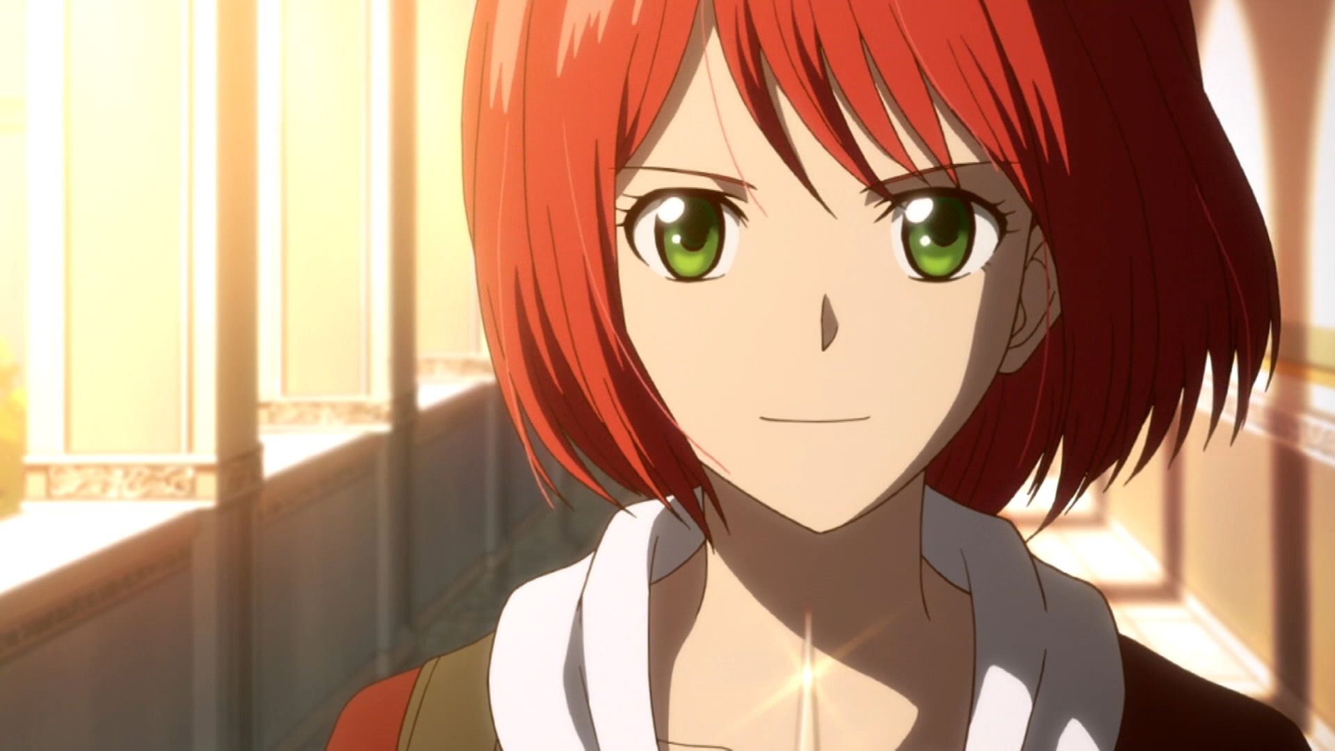 Shirayuki looking proud