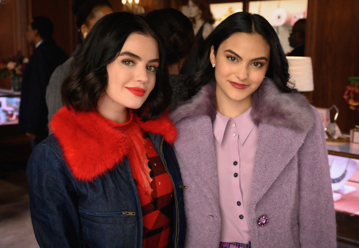 Promotional photo of Katy and Veronica on Riverdale.