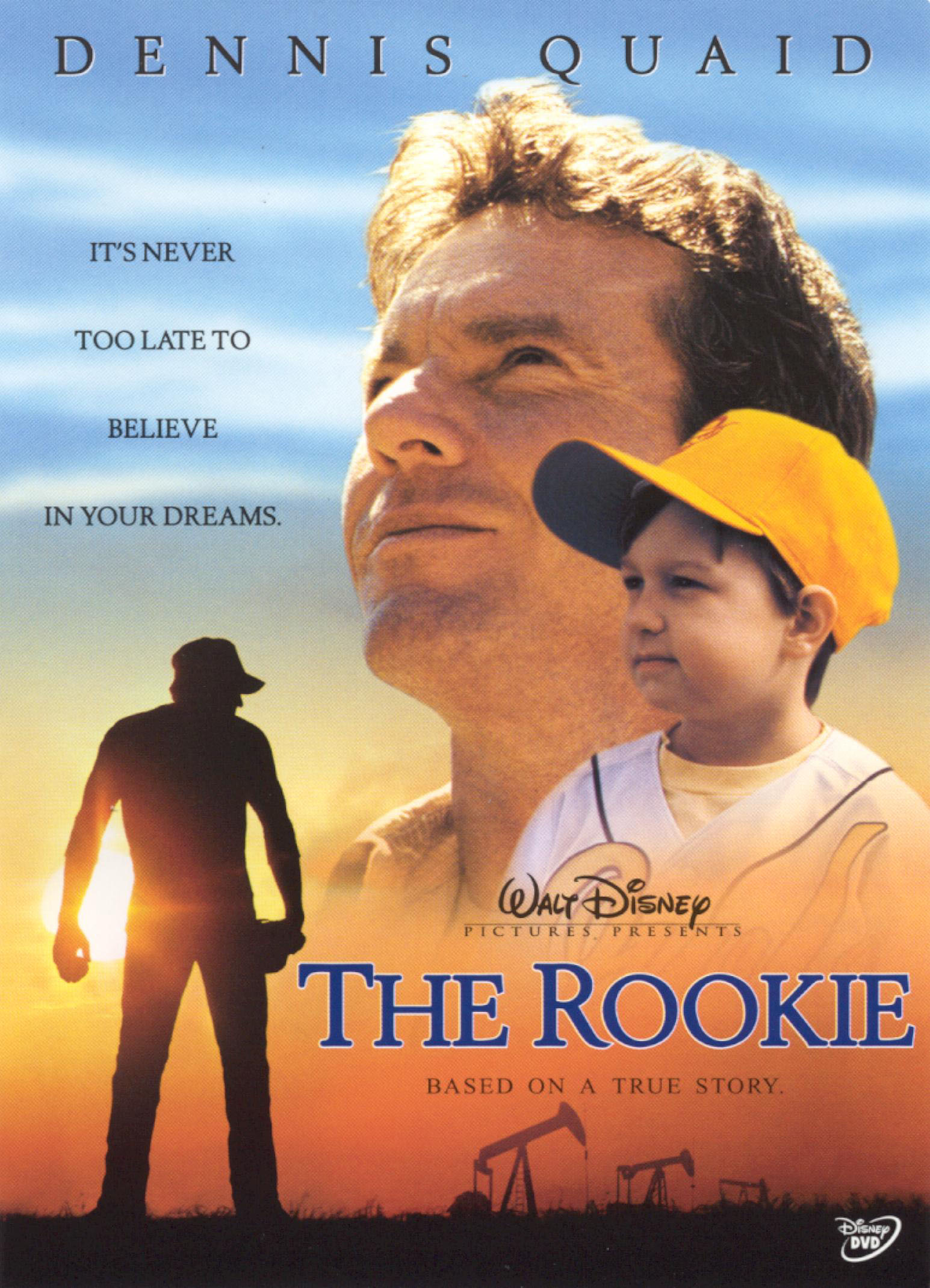 The underdog story to get you in the baseball spirit, The Rookie.
