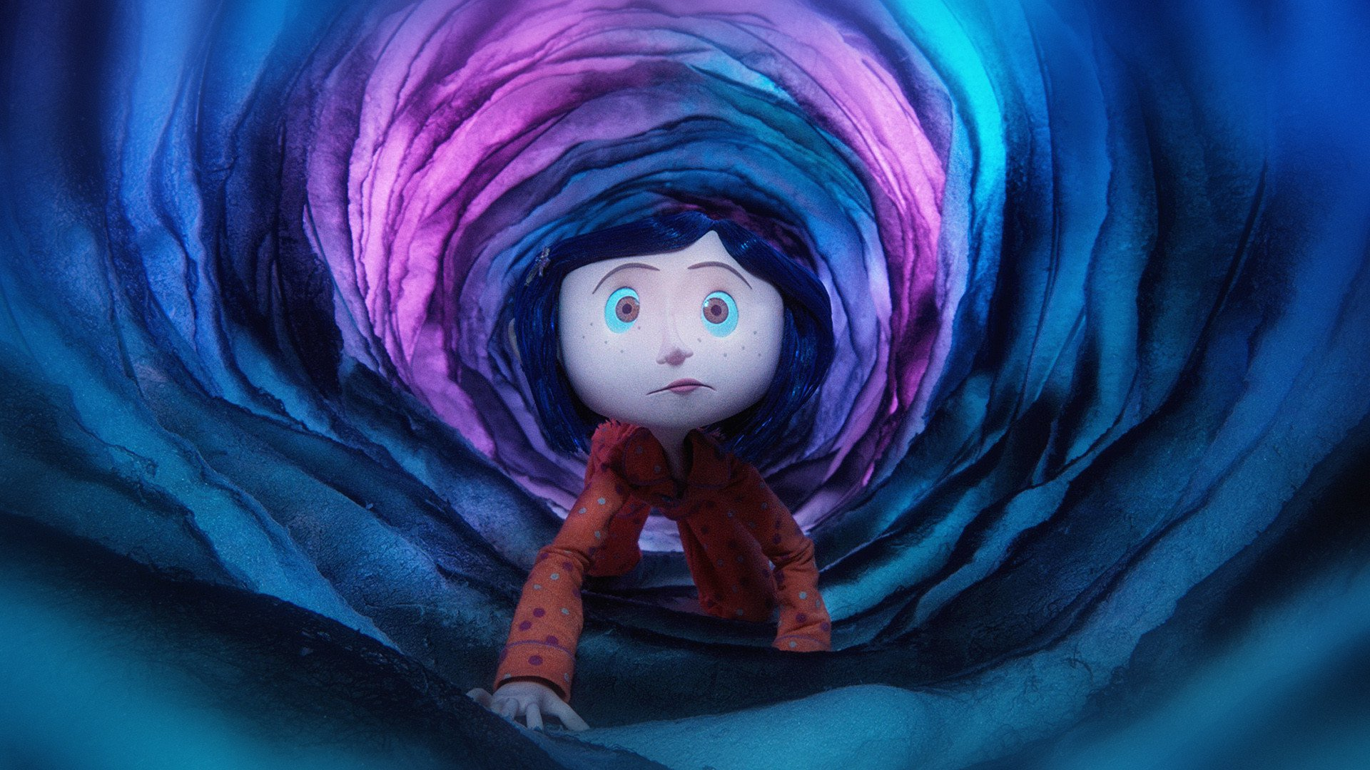 The adventurous Coraline would fit right in to the world of Locke & Key.