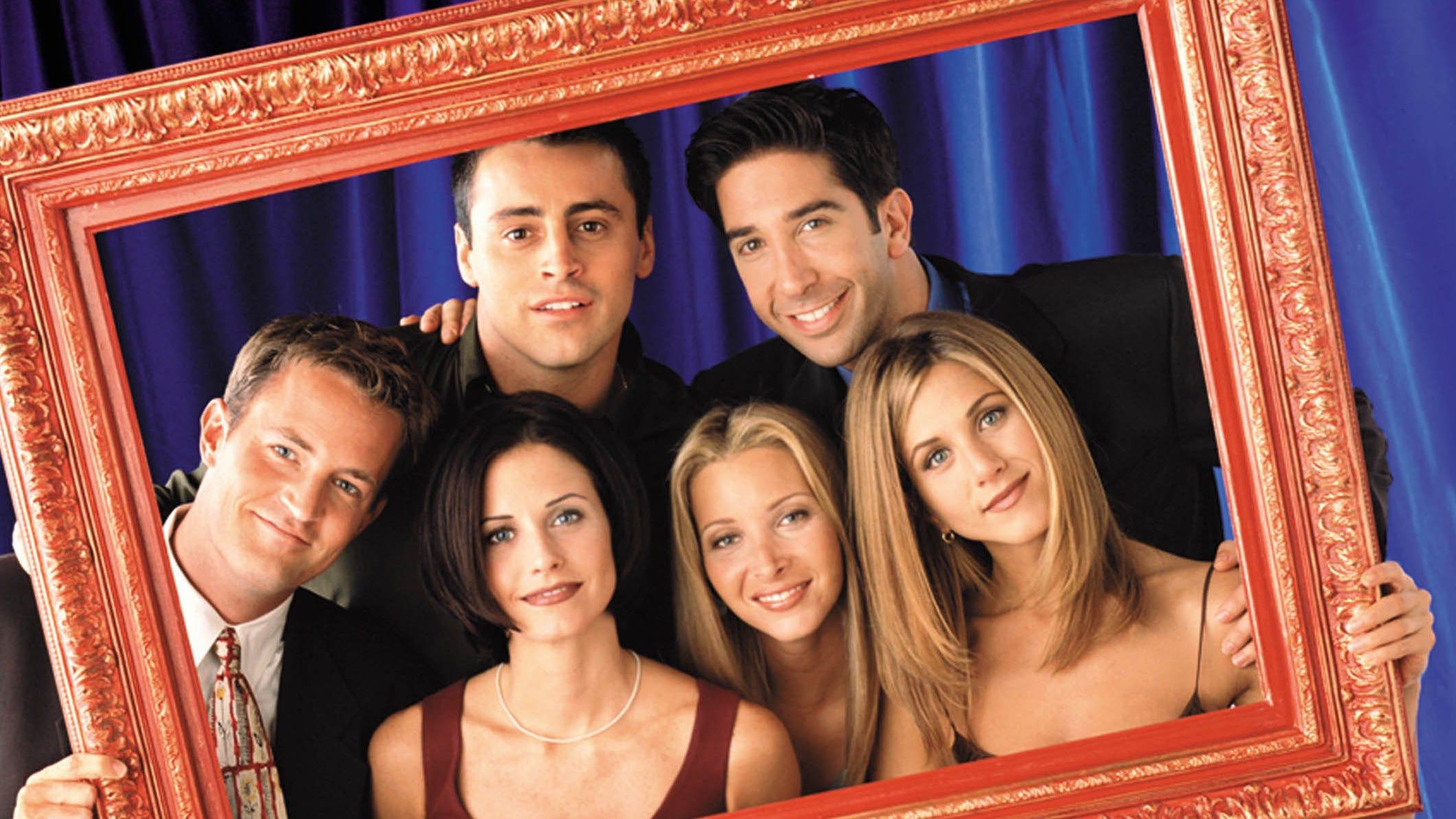 Ultimate friendship goals, Joey, Ross, Chandler, Monica, Phoebe and Rachel (Friends).