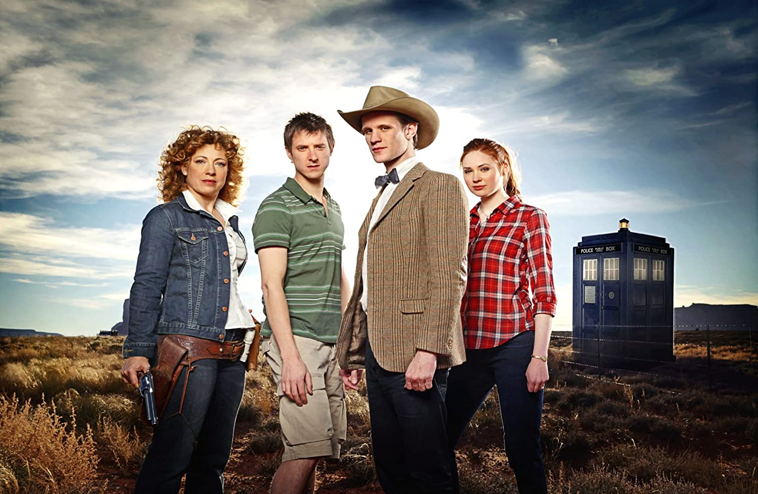 Dr. Who is about to test his friendships with River, Rory and Amy.