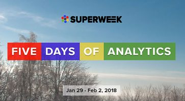 Superweek analytics events conference on data user graphs