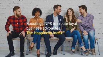 eNPS study to create satisfied and loyal-business advocates