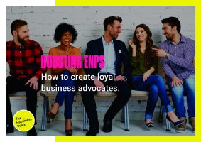 Boosting-eNPS-brochure-Front-cover-creating-loyal-business-advocates-employee-engagement