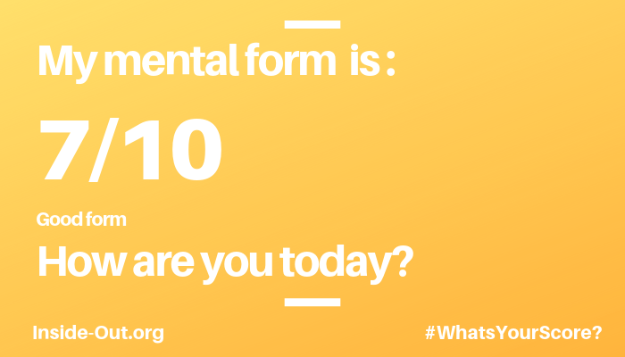 world mental health day mental form score