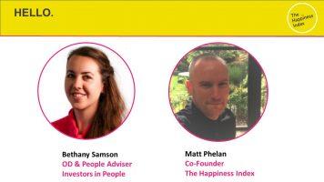 Bethany Samson and Matt Phelan discuss maximising employee engagement during furlough