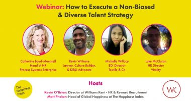 Webinar: How to Execute a Non-Biased & Diverse Talent Strategy