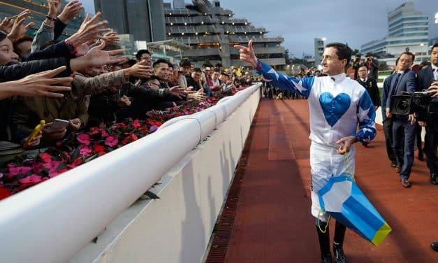 Sha Tin farewells champion jockey