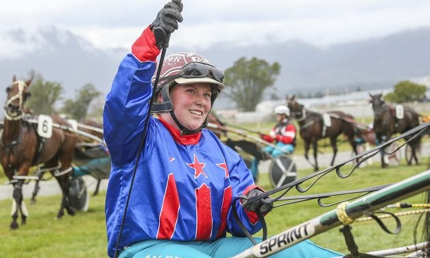 Kim Butt takes out Westport lady drivers' race