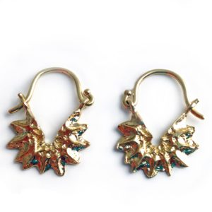 T/Raw Jewellery Earrings  State of NatureGold-plated Natural Born Star
