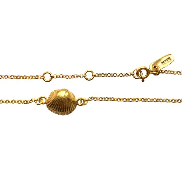 T/Raw Jewellery Anklets  State of NatureGold-plated Naturally Summer Anklet