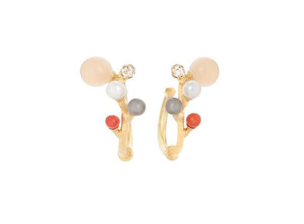 Ole Lynggaard Copenhagen Earrings Hoops  BLOOMINGBlooming Creol