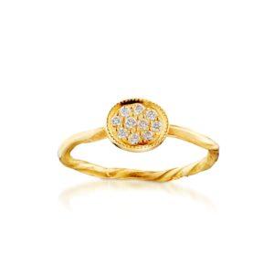 Bergsoe Jewellery Rings  PavéPavé ring