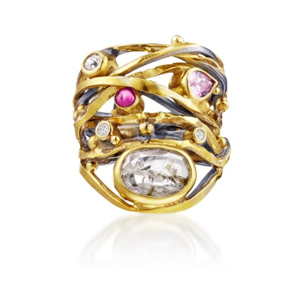 Bergsoe Jewellery Rings  Twisted ringsTwisted ring