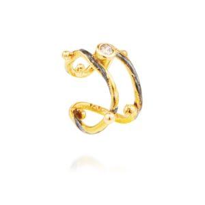 Bergsoe Jewellery Earrings  SeafireSeafire earcuff