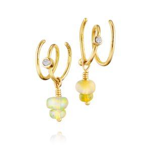 Bergsoe Jewellery Earrings Hoops  SpiralSpiral Earrings