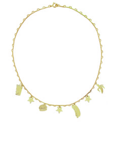MalaikaRaiss Necklaces  Charm Necklace Food