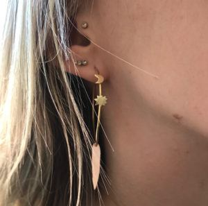 MaryLou Earrings Hoops  ChristineChristine Hoop